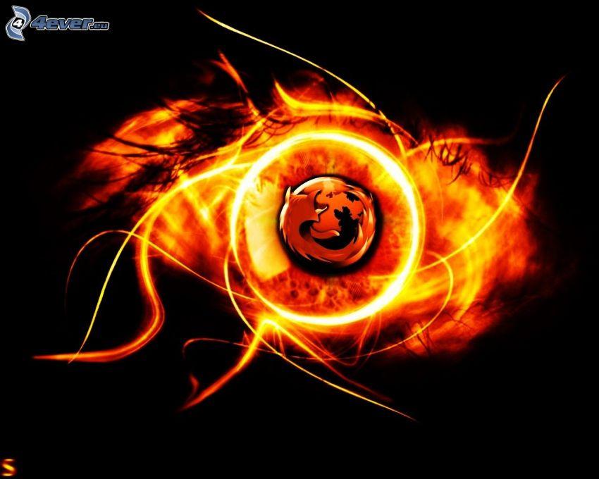 Firefox, ogień