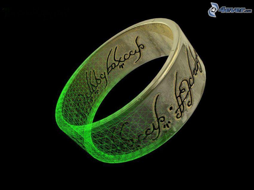 Lord of the Rings, pierścień