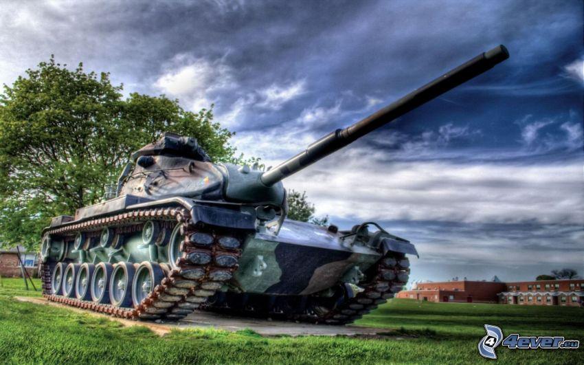 T-34, czołg, HDR