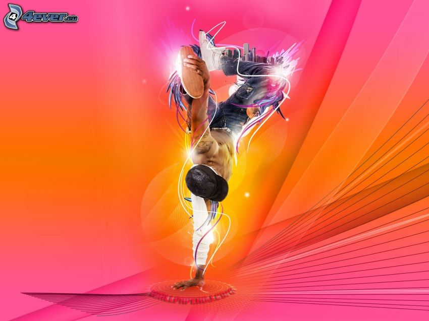 tancerz, breakdance, DJ