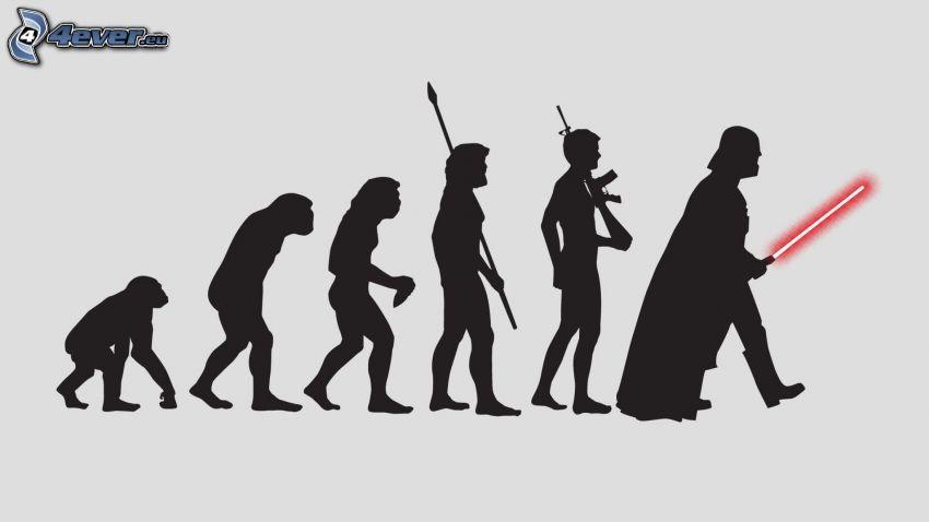 ewolucja, Star Wars