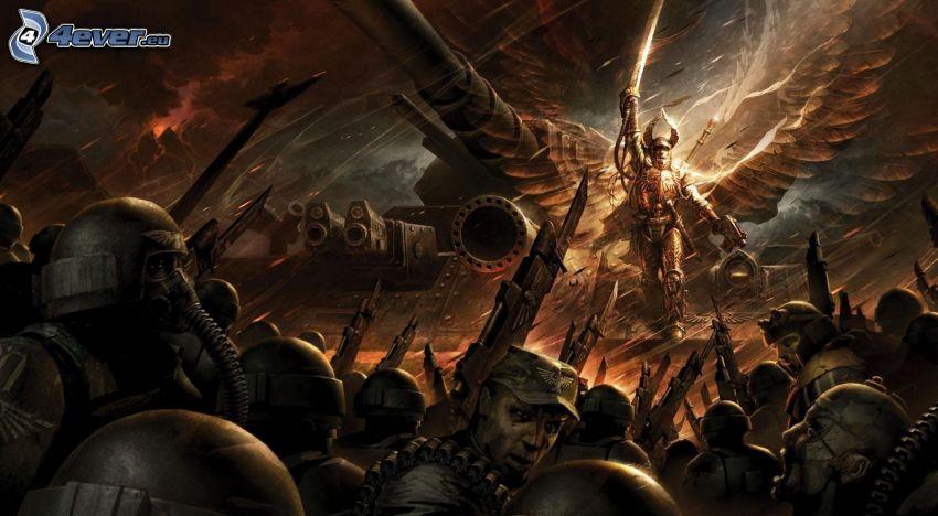 fantazyjni wojownicy