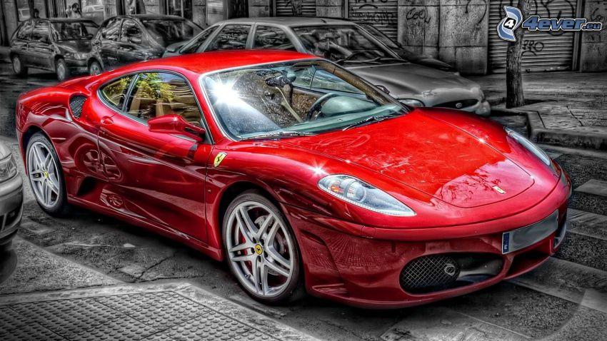 Ferrari F430, HDR
