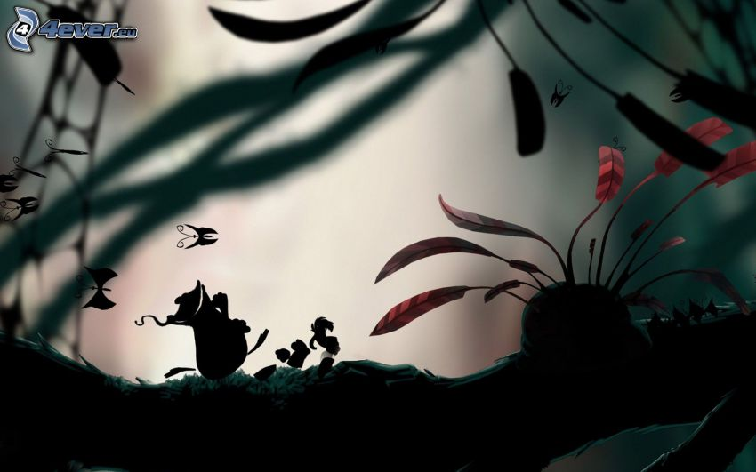 figurka, Motyle, liście
