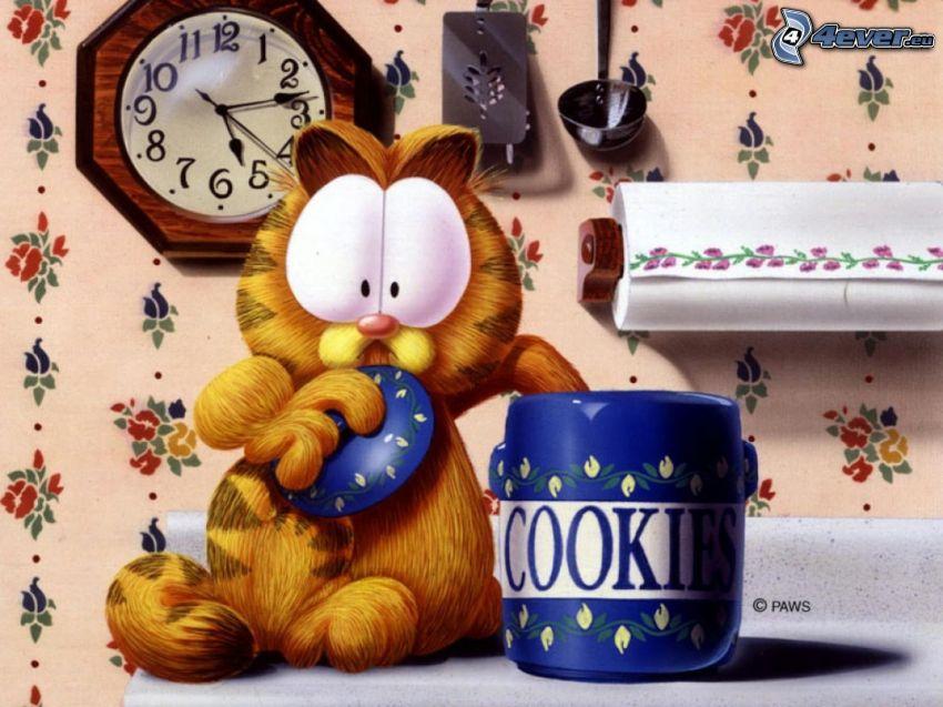 Garfield, ciasteczka