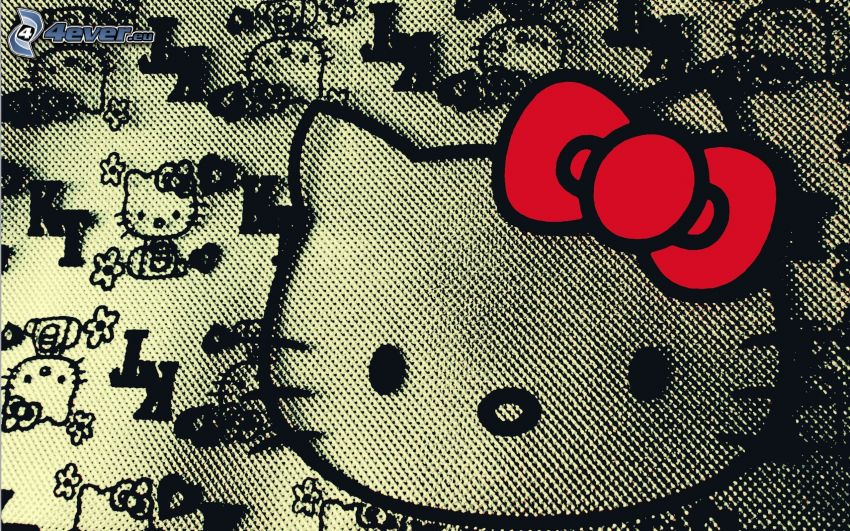Hello Kitty, naszywka