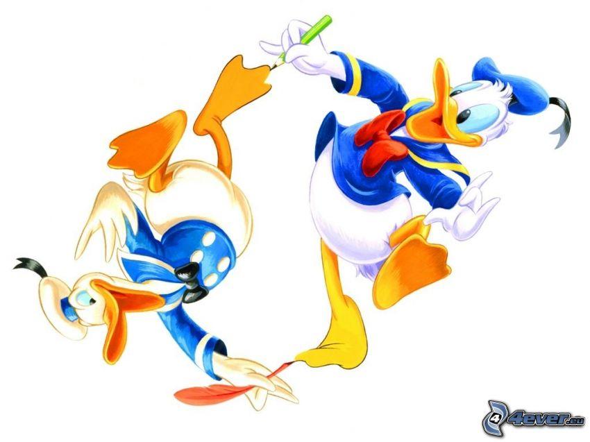 Kaczor Donald, animacja