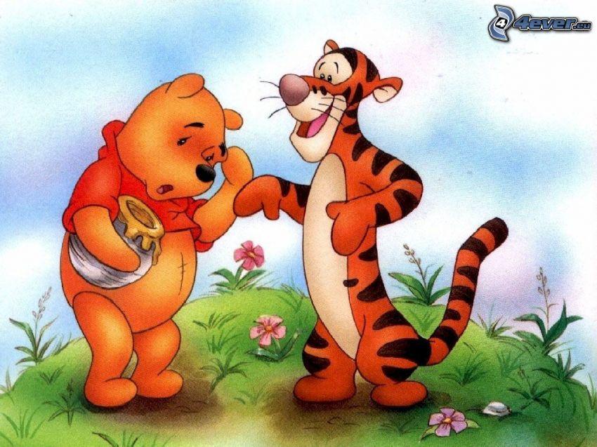 Kubuś Puchatek i Tygrys, Winnie the Pooh, miód, Disney