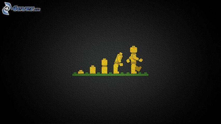 Lego, figurka, ewolucja