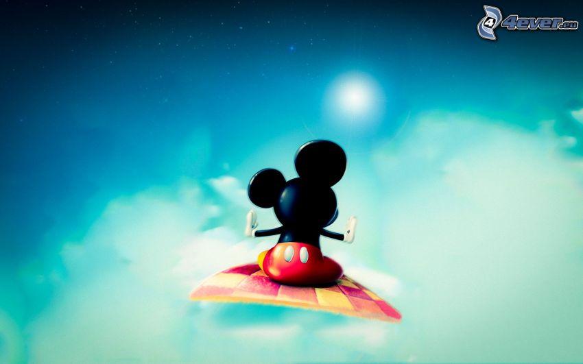 Mickey Mouse, latający dywan