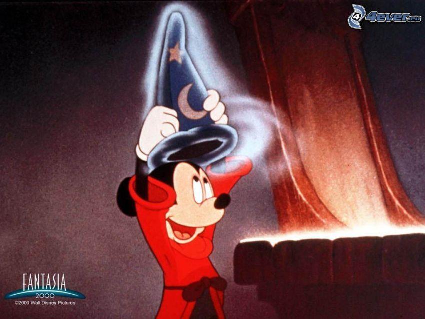 Mickey Mouse, magik