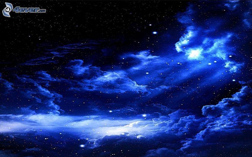 niebo w nocy