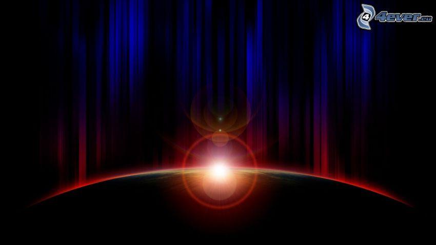 planeta, słońce