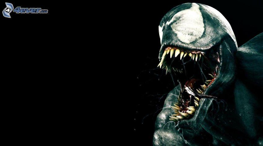 potwór, paszcza