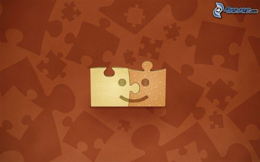 puzzle, buźki