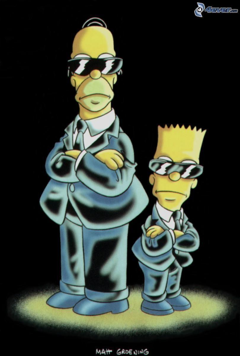 Simpsonowcy, Homer Simpson, Bart Simpson, mafia