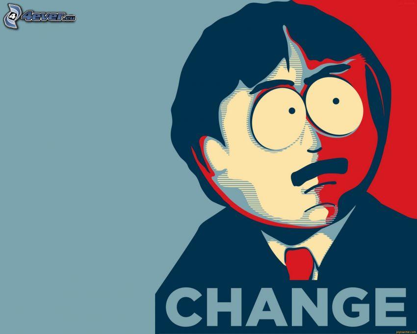 South Park, rysunkowa postać