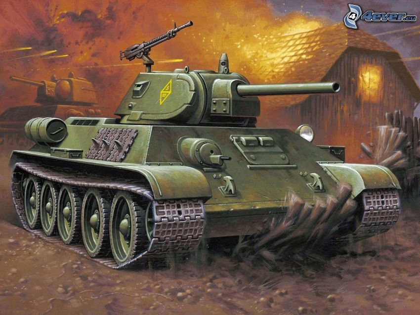 T-34, czołg