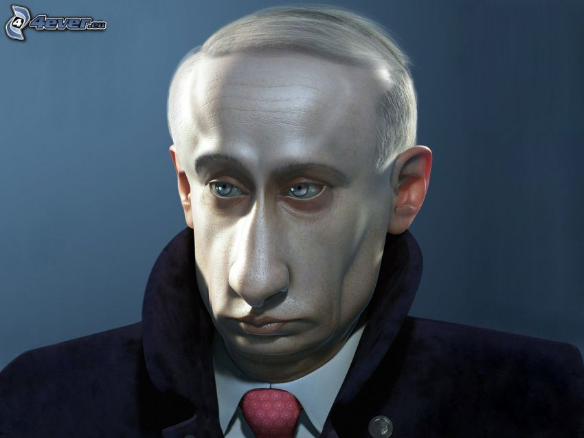 Vladimir Putin, karykatura