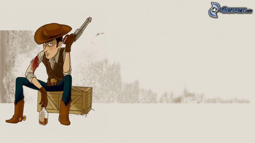 Woody, Toy Story, kowboj