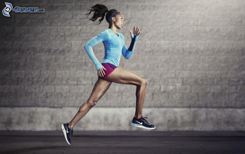 bieg, sportsmenka