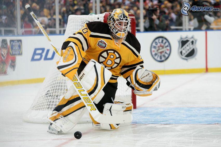 bramkarz, Boston Bruins