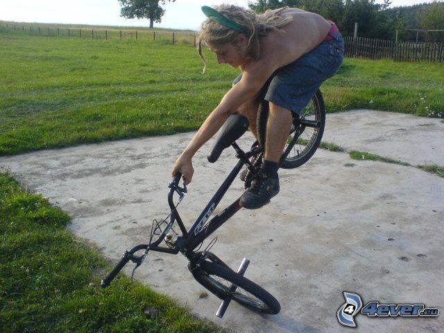 akrobacje, BMX