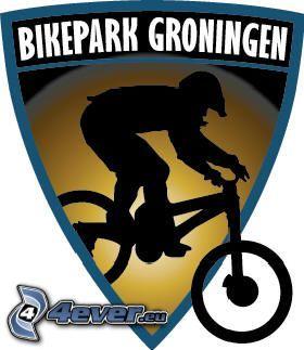 bikepark Groningen, rower, logo