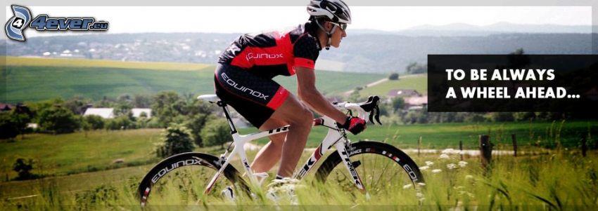rowerzysta, rower, Tour De France, text