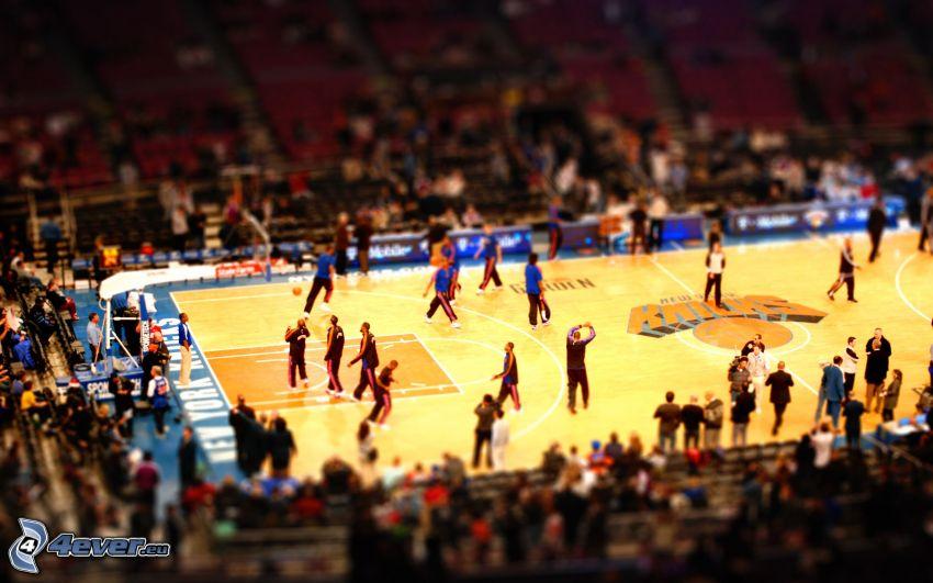 koszykówka, diorama