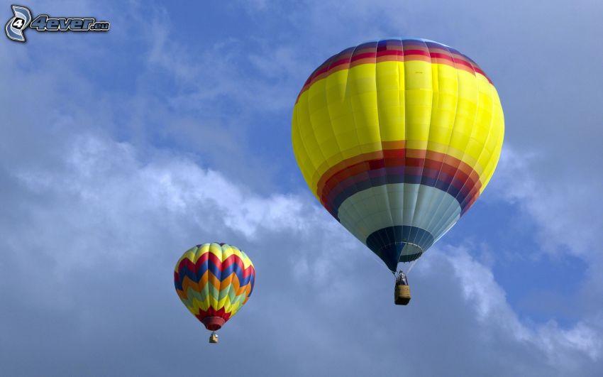 latające balony