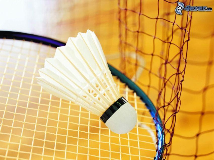 lotka, rakieta, badminton