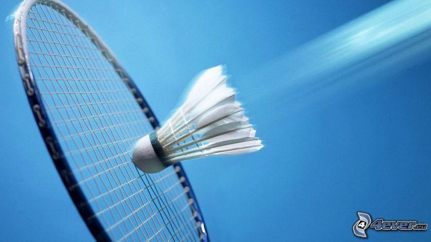 lotka, rakieta do badmintona