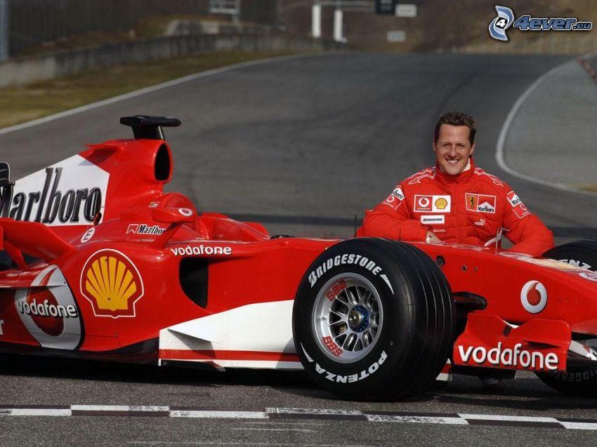Michael Schumacher, Formuła 1, formuła, Monoposto