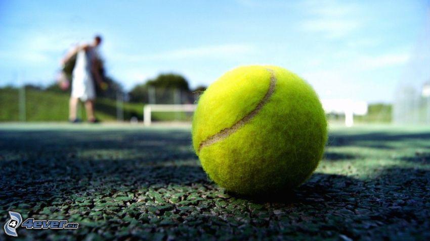 piłeczka tenisowa, tenisista