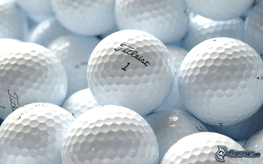 piłeczki, golf