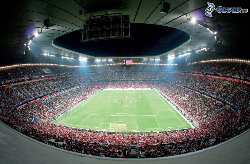 Allianz Arena, boisko do piłki nożnej, stadion