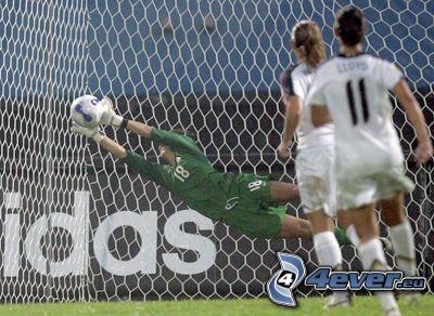 bramkarz, gol, szansa, piłka, piłka nożna
