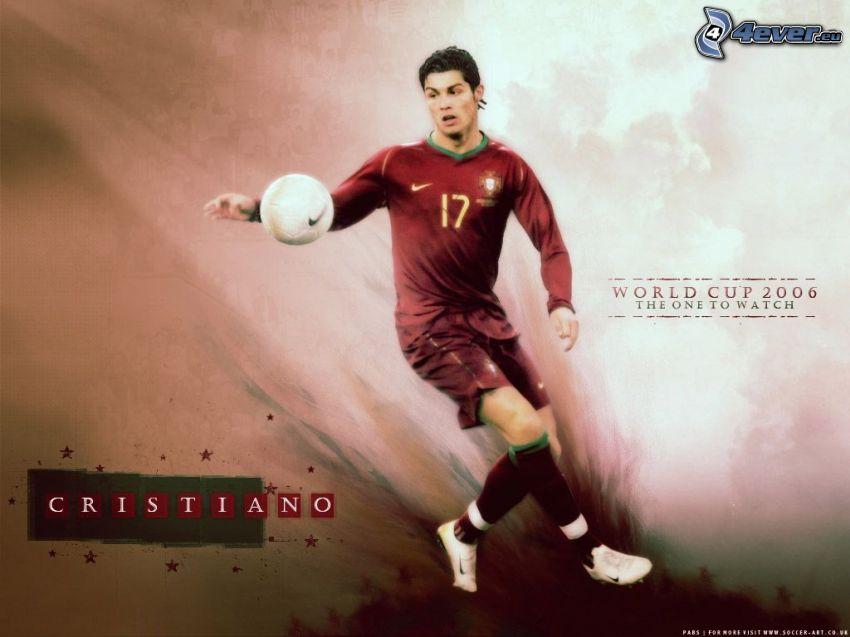 Cristiano Ronaldo, piłka, piłka nożna
