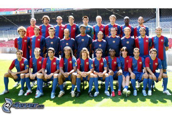 FC Barcelona, piłka nożna, team