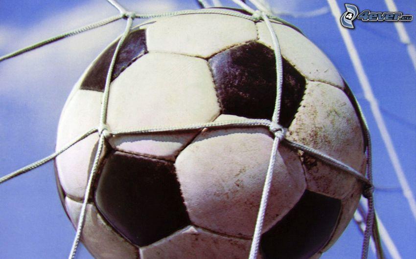 Piłka do nogi, sieć