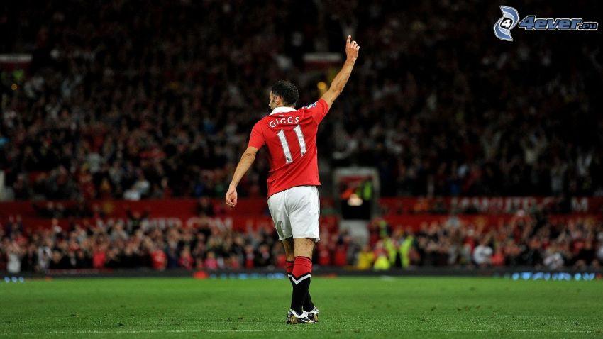 Ryan Giggs, Manchester United, piłkarz