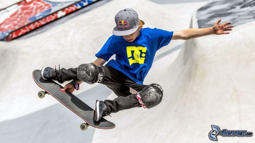 Skateboarding, skok