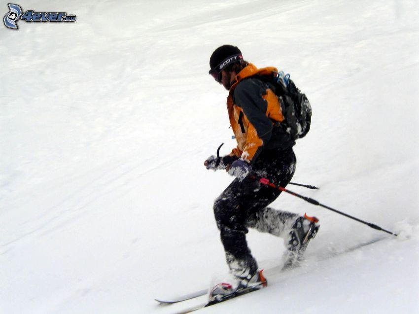 narciarstwo, narciarz