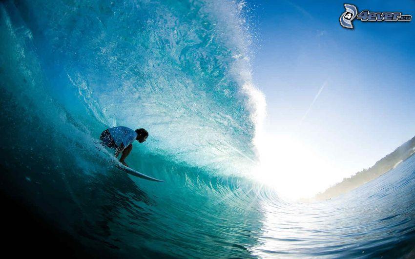 surfowanie, fala