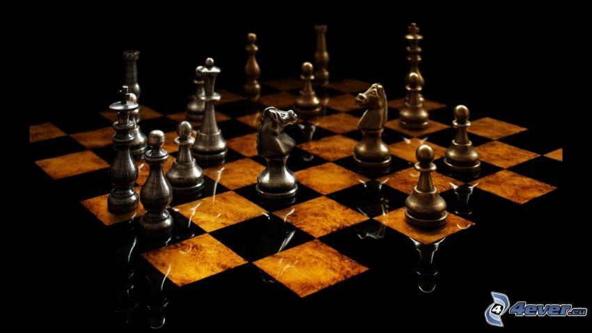 szachownica, szachy