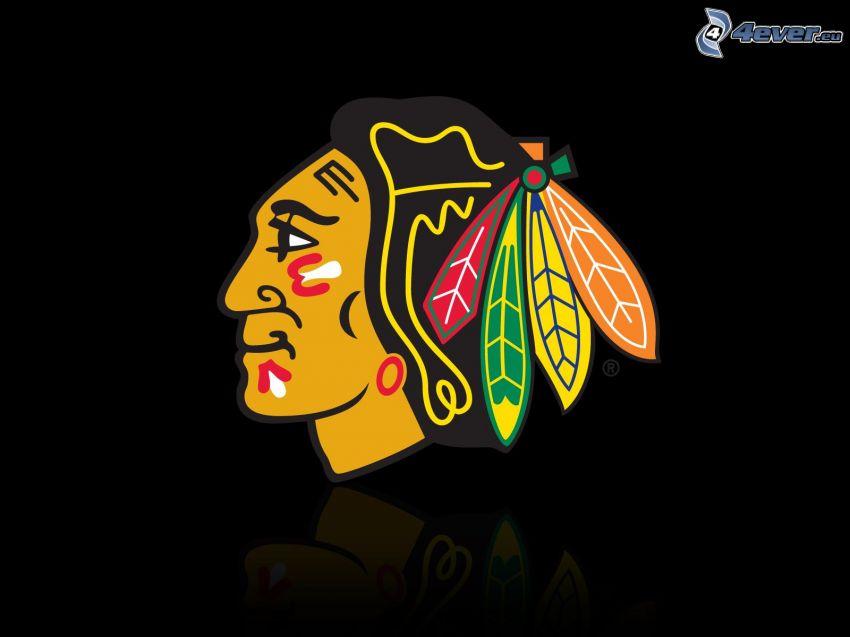 Chicago Blackhawks, NHL, hokej, logo