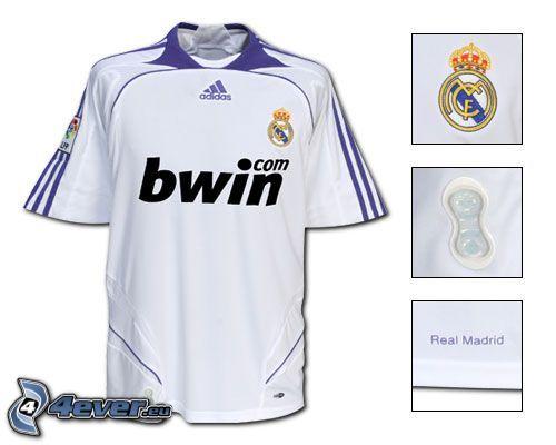 Real Madrid, strój sportowy