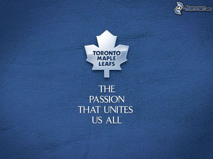 Toronto Maple Leafs, NHL, hokej, emblemat