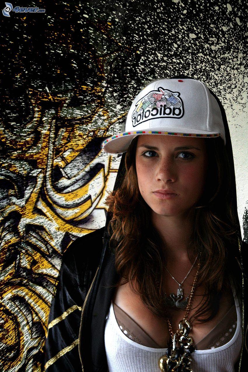 dziewczyna hip-hopowa